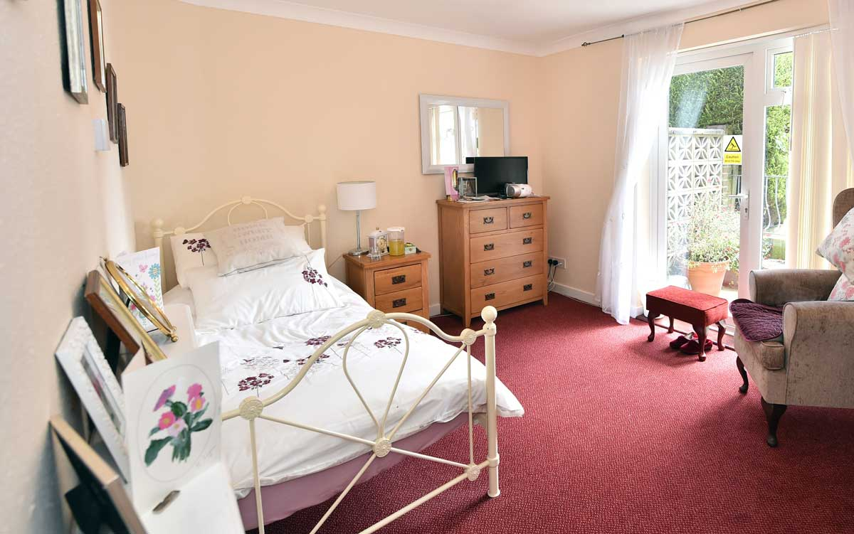 Place Farm House residential care home rooms