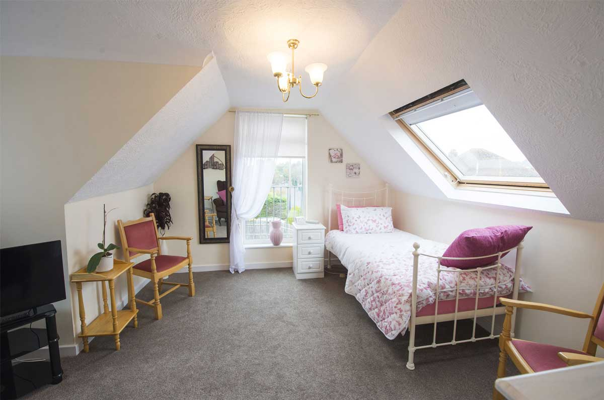 Place Farm House residential care home room